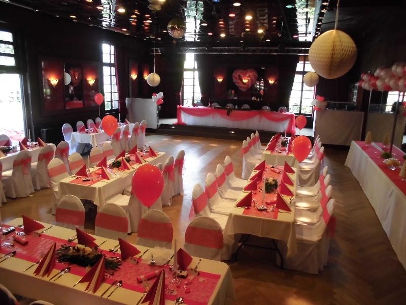 Bilder Vom Saal Mit Hochzeits Deko Kulturforum Logenhaus