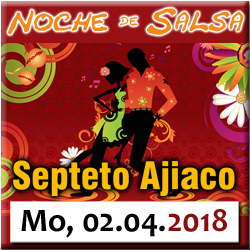 Noche de Salsa con Septeto Ajiaco @ Kulturforum Logenhaus | Erlangen | Bayern | Deutschland