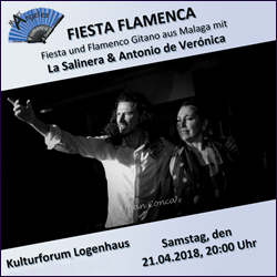 Fiesta Flamenca @ Kulturforum Logenhaus | Erlangen | Bayern | Deutschland
