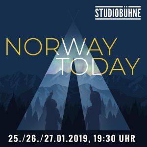 Studiobühne: Norway Today @ Kulturforum Logenhaus | Erlangen | Bayern | Deutschland