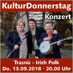 KulturDonnerstag: Trasnú (Irish Folk) @ Kulturforum Logenhaus | Erlangen | Bayern | Deutschland