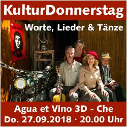 KulturDonnerstag: CHE - Ein Leben für die Revolution @ Kulturforum Logenhaus | Erlangen | Bayern | Deutschland