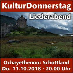 """KulturDonnerstag - Schottischer Liederabend mit """"Ochayethenoo"""" @ Kulturforum Logenhaus   Erlangen   Bayern   Deutschland"""