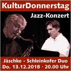 KulturDonnerstag: Jäschke-Schleinkofer Duo @ Kulturforum Logenhaus | Erlangen | Bayern | Deutschland
