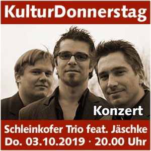 Michael Schleinkofer Trio feat. Traugott Jäschke @ Kulturforum Logenhaus