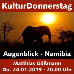 KulturDonnerstag: Matthias Gößmann - Augenblick - Namibia @ Kulturforum Logenhaus | Erlangen | Bayern | Deutschland
