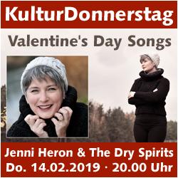 KulturDonnerstag: Jenny Heron & The Dry Spirits @ Kulturforum Logenhaus