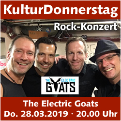 KulturDonnerstag: The Electric Goats @ Kulturforum Logenhaus | Erlangen | Bayern | Deutschland