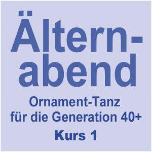 Tanzkurs 1: Ornament-Tanz = Älternabend 40+ @ Kulturforum Logenhaus