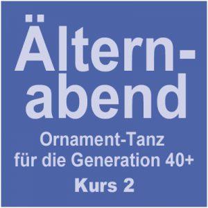 Tanzkurs 2: Ornament-Tanz = Älternabend 40+ @ Kulturforum Logenhaus