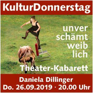 KulturDonnerstag: Daniela Dillinger @ Kulturforum Logenhaus