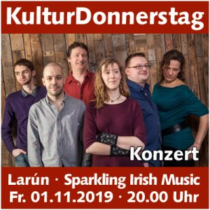 "Larún – ""Sparkling Irish Music"" @ Kulturforum Logenhaus"