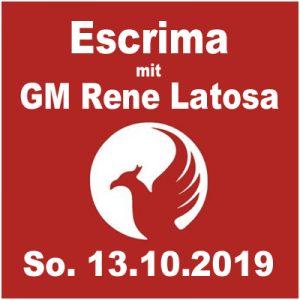 Escrima Lehrgang mit GM Rene Latosa @ Kulturforum Logenhaus
