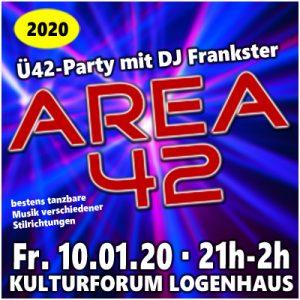 AREA 42 mit DJ Frankster