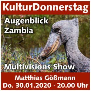 Matthias Gößmann - Augenblick Zambia @ Kulturforum Logenhaus