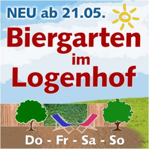 Biergarten im Logenhof @ Kulturforum Logenhaus